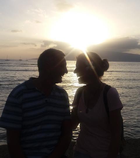 Kathy and Steve