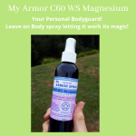 My ARMOR – C60 Magnesium Leave on Life Force Body Spray