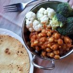Oh so good chickpea curry!